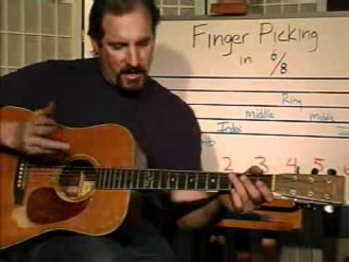 First Additional product image for - 20 Minute Music GUITAR Class 1 by Dan Lefler - Featured Song - Moon Shadow