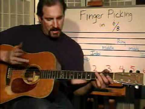 20 minute music guitar class 1 by dan lefler - featured song - moon shadow