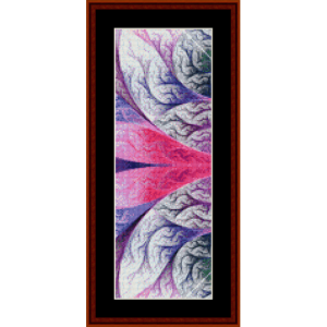 Fractal 448 Bookmark cross stitch pattern by Cross Stitch Collectibles | Crafting | Cross-Stitch | Other