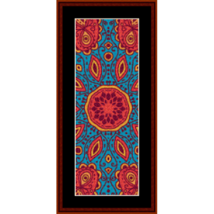 Fractal 502 Bookmark cross stitch pattern by Cross Stitch Collectibles | Crafting | Cross-Stitch | Other