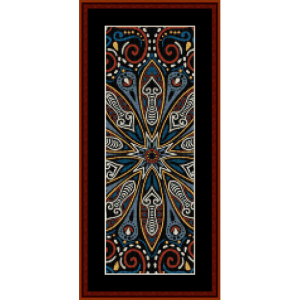 Fractal 506 Bookmark cross stitch pattern by Cross Stitch Collectibles | Crafting | Cross-Stitch | Other