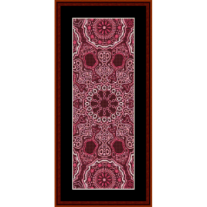 Fractal 521 Bookmark cross stitch pattern by Cross Stitch Collectibles | Crafting | Cross-Stitch | Other
