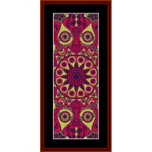 Fractal 539 Bookmark cross stitch pattern by Cross Stitch Collectibles | Crafting | Cross-Stitch | Other