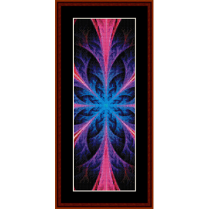 Fractal 550 Bookmark cross stitch pattern by Cross Stitch Collectibles | Crafting | Cross-Stitch | Other