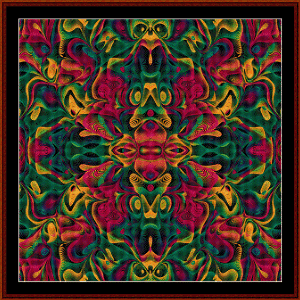 Fractal 557 cross stitch pattern by Cross Stitch Collectibles | Crafting | Cross-Stitch | Wall Hangings