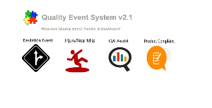 quality event system v2.1 -real time dashboard