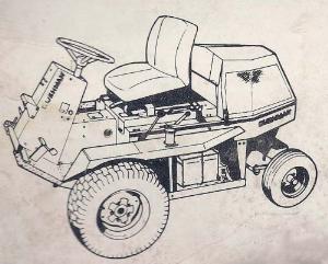 cushman front line diesel 898806 898807 operator's manual