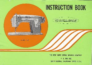 new home sewing machine manual model 532