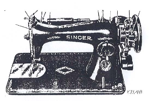 Singer Sewing Machine Instructions Manual Model 15-91 | Documents and Forms | Manuals