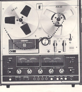 Akai 1800D-SS Reel to Reel Stereo Tape Recorder | Documents and Forms | Manuals