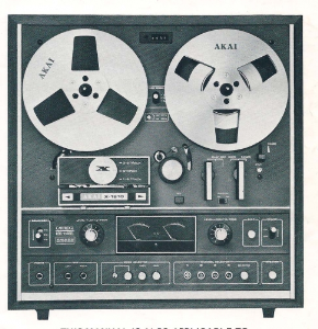 Akai X-1810 Reel to Reel Operator's Manual | Documents and Forms | Manuals