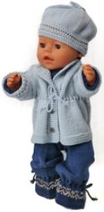 DollKnittingPatterns 0146D LORENZE - Pakje, Jasje, Muts en Sokjes-(Nederlands) | Crafting | Knitting | Other