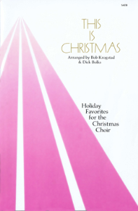 This is Christmas - Piano/Vocal Score | Music | Folksongs and Anthems