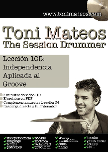 the session drummer. leccion 105. independencia aplicada al groove