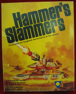 hammer's slammers board game instructions 1984 mayfair games