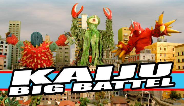 First Additional product image for - KAIJU BIG BATTEL - witness live monster fighting in a wrestling ring