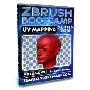 ZBrush Bootcamp Series- Volume #9- UV Mapping Secrets I | Software | Training