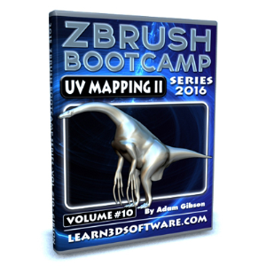 ZBrush Bootcamp Series- Volume #10- UV Mapping Secrets II | Software | Training