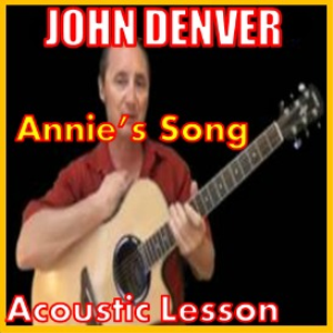 learn to play anniessong by john denver
