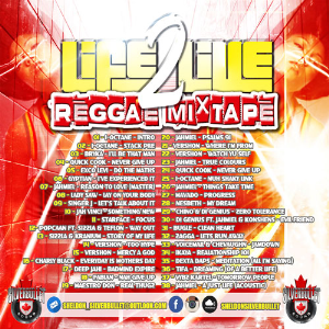 Silver Bullet Sound - Life To Live Reggae  Mixtape 2016 | Music | Reggae