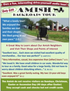 Amish Backroads Tour | Audio Books | Other