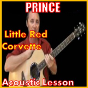 learn to play little red corvette by prince