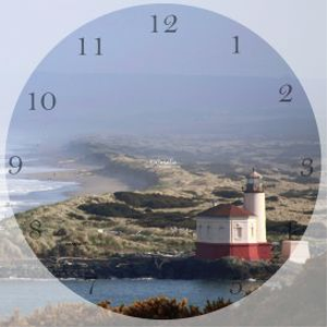 lighthouse clock template