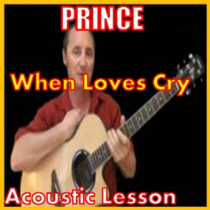 learn to play when doves cry by prince