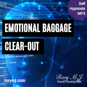 emotional baggage clear-out hypnosis audio - hypnotherapy mp3