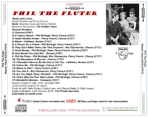 First Additional product image for - Phil The Fluter - Original Cast Recording