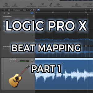 Logic Pro X - Beat Mapping - part 1 (video tutorial) | Movies and Videos | Educational