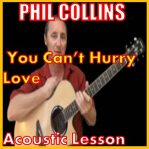 learn to play you can't hurry love by phil collins