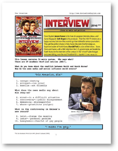 THE INTERVIEW, Whole-Movie English (ESL) Lesson | eBooks | Education