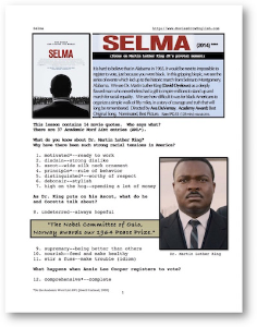 SELMA, Whole-Movie English (ESL) Lesson | eBooks | Education