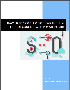 how to get your website listed on the first page of google