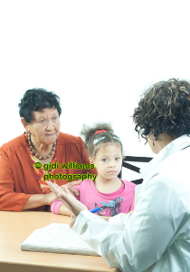1865 - at the Dr's with mum | Photos and Images | Children