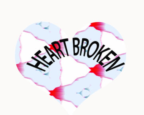First Additional product image for - Heart Broken