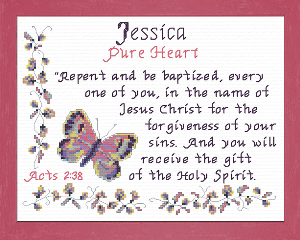 Name Blessings - Jessica 5 | Crafting | Cross-Stitch | Other