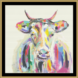 Artsy Cow | Crafting | Cross-Stitch | Religious