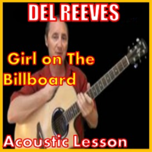 learn to play girl on the billboard by del reeves