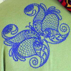 Laura's Butterfly Giants Collection HUS   Crafting   Embroidery