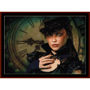 Steampunk Time - Fantasy cross stitch pattern by Cross Stitch Collectibles | Crafting | Cross-Stitch | Wall Hangings