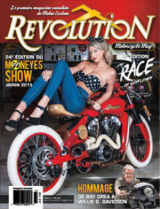 revolution motorcycle magazine vol.37 francais