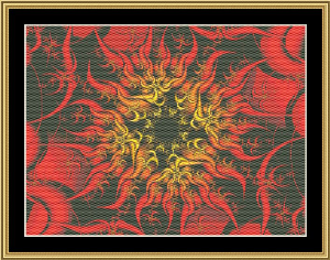 Fractal Unlimited 32 | Crafting | Cross-Stitch | Wall Hangings
