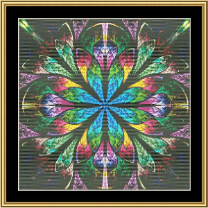 Fractal Unlimited 236 | Crafting | Cross-Stitch | Wall Hangings