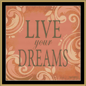 Live Dreams | Crafting | Cross-Stitch | Wall Hangings