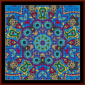 Fractal 560 cross stitch pattern by Cross Stitch Collectibles | Crafting | Cross-Stitch | Wall Hangings