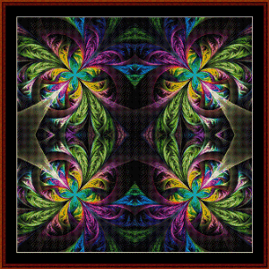 Fractal 561 cross stitch pattern by Cross Stitch Collectibles | Crafting | Cross-Stitch | Wall Hangings