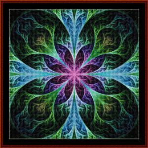 Fractal 564 cross stitch pattern by Cross Stitch Collectibles | Crafting | Cross-Stitch | Wall Hangings