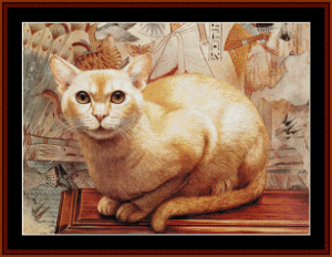 Cat, Perching - Vintage Art cross stitch pattern by Cross Stitch Collectibles | Crafting | Cross-Stitch | Animals